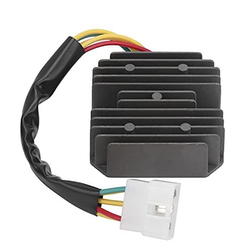 KAKAKE Reemplaza rectificador, diodos electrónicos de silicio TV Rectificador Regulador de Voltaje Reemplazo para LINHAI 260300 300cc ATV para Motores de Barco