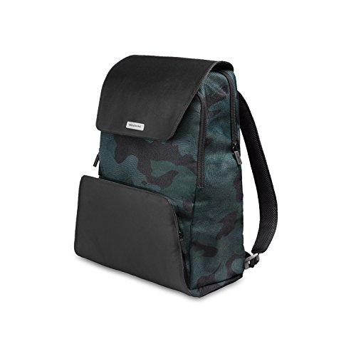 Moleskine Zaino Porta PC Device Backpack per Tablet, Laptop, iPad e Computer fino a 15'', Dimensione 34 x 20 x 47 cm, Colore Verde Mimetico