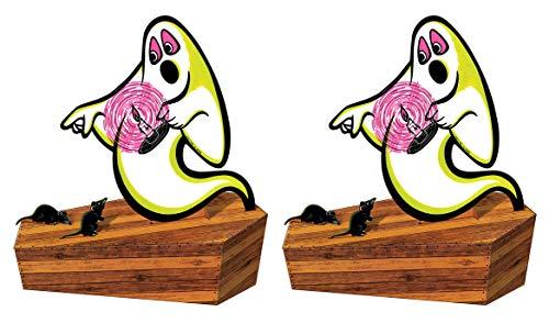 Beistle 00458 Vintage Halloween 3-D gruselig Tafelaufsatz, 2-teilig, 32 cm, mehrfarbig