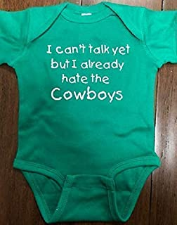 Eagles fans baby bodysuit Eagles infant one piece hate the Cowboys
