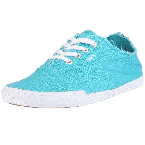 Puma 350935 12 Tekkies Brites, Unisex - Erwachsene Sneaker, Blau (scuba blue-white), EU 36, (UK 3.5)