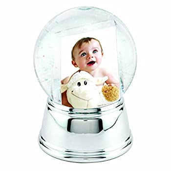 Photo Snow Globe with Silver Base
