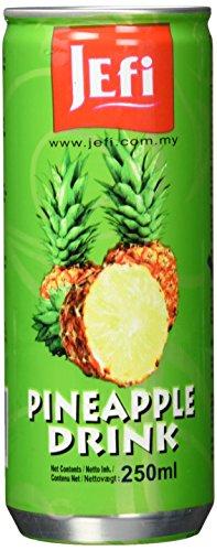 Jefi Drinks Ananassaft, 30er Pack (30 x 250 ml)