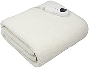 Deluxe Massage Table Warmer with Digital Timer and Digital Heat Setting-Synthetic for Back Massage, Wool Fleece