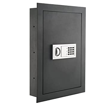Paragon Lock & Safe - 7725 Superior Wall Safe 7725 Flat Electronic Wall Safe For Jewelry Security -