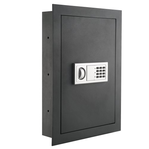 Paragon Lock & Safe 7725 Flat Electronic Wall Safe For Jewelry Security