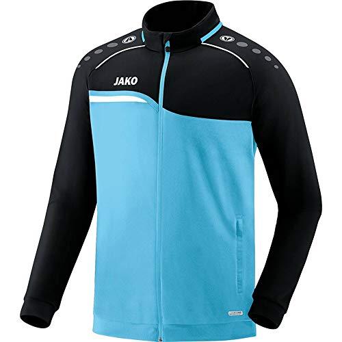 JAKO Veste Competition 2.0 en polyester pour homme XL Bleu/noir