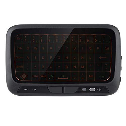 Semiter Teclado inalámbrico retroiluminado, Teclado Air Mouse El Tiempo de Servicio es Muy Largo · Amplia aplicabilidad de 400 mA para televisores Inteligentes para computadoras para TV por