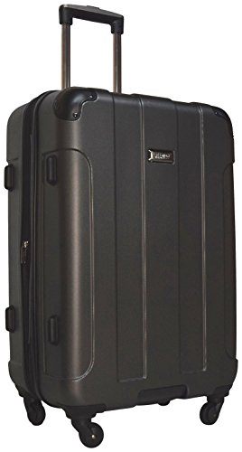 Kenneth Cole Reaction Central Park 24' 4-Wheel Upright Expandable Spinner (Charcoal)