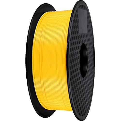 PLA Filament 1.75mm, 3D Drucker PLA filament 1kg Spool (Gelb)