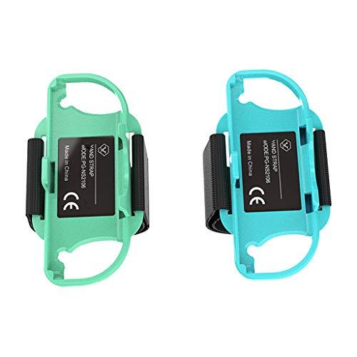 Pulseira ajustável para mãos do jogo 2021 para interruptor Nin-tendo Just Dance Joy-con controlador acessórios de animais, pulseira de dança completa