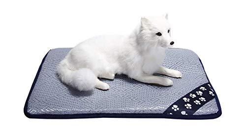 GZGZADMC Hundebett Matte Wasserdicht Käfig Zwinger Pad Schlafmatratze für Kleine Mittlere und Große Hunde Katzen Waschbar Haustier Matte für Fressnäpfe, Hundekäfige, Autos und Sofa