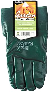 Magid G195T Lose Rose Handler Glove with Nitrile Coating, Green, Small
