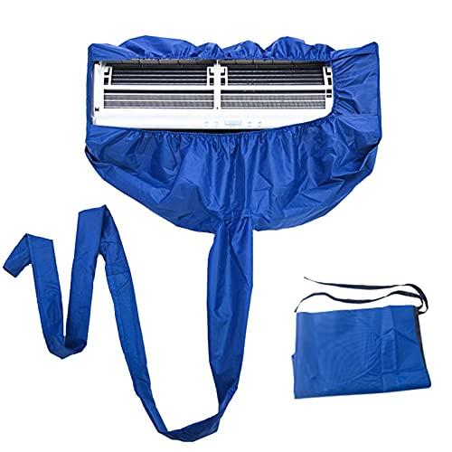 GRTBNH Kit di Copertura Impermeabile per Pulizia Condizionatore d'Aria, Borsa Protezione per Pulizia Condizionatore d'Aria per Condizionatori d'Aria Inferiori a 2,5 P, per unità AC Mini Split Parete