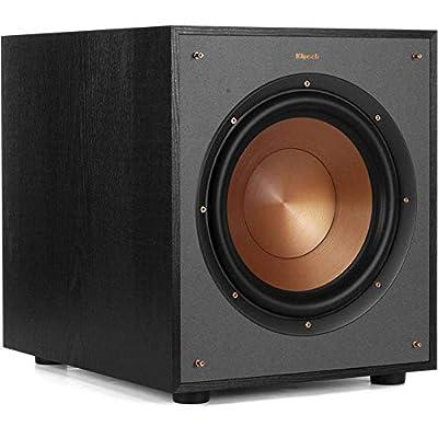 """Klipsch R-100SW 10"""" Subwoofer, Incredibly Deep Bass and an All-digital Amplifier"""