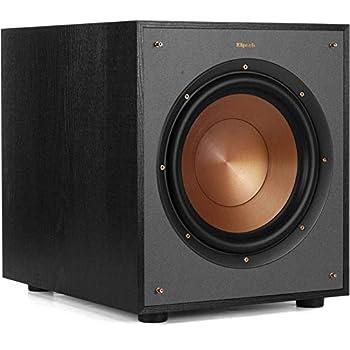 Klipsch R-100SW 10  Subwoofer Incredibly Deep Bass and an All-digital Amplifier