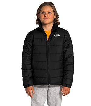 The North Face Boys Reversible Mount Chimborazo Jacket TNF Black XS