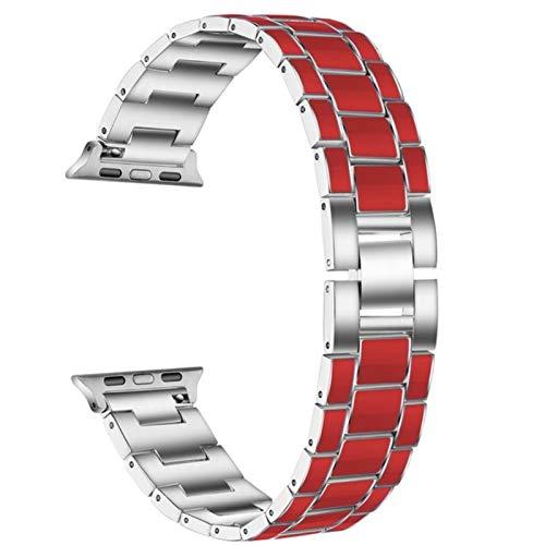 Correa para Apple Watch Band 40mm 44mm 38mm 42mm bandas para iwatch bandas series 5 4 3 2 1 correa pulsera metal pulseira correa