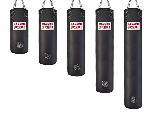 Paffen Sport «Allround» Box- und Kick-Boxsack – schwarz – gefüllt – 150cm – 45kg