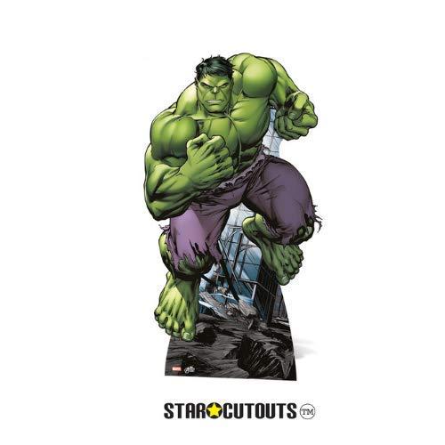 Marvel Avengers Hulk-Figur in Lebensgröße