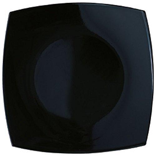 Luminarc Quadrato Noir - Piatto da Contorno 19 cm