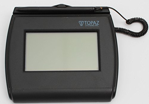 Topaz T-LBK750-BHSB-R Backlit 4x3 LCD Signature Capture Pad Dual Serial/USB