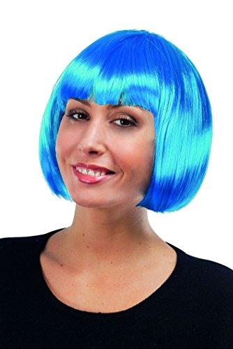 P'tit Clown 60599 Cabaret-pruik 42 X 23 turquoise