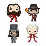 Funko Pop! Dracula Set of 4: Dracula, Young Dracula, Van Helsing and Armored Dracula