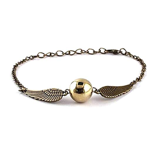 DDG EDMMS Snitch Quecksilber Gold-Perlen-Armband-Party Supplies, Magie Shcool, Studenten-Geschenke, Geschenke für sie, Aussenseiter-Geschenke