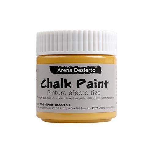 MP - Chalk Paint, Pintura Acrílica Efecto Tiza Vintage, (PP663-07) Color Arena Desierto - 100ml