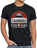 style3 ECTO-1 Repair Camiseta para Hombre T-Shirt Cazafantasmas ecto1, Talla:XL