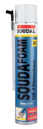 Füll- & Dämmschaum SOUDAFOAM B2 750 ml (Adapteraufsatz) Spar- Set (3)