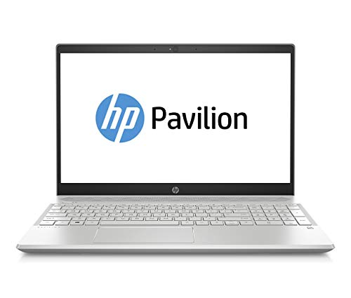 HP Pavilion 15-cw0001ng (15,6 Zoll Full-HD IPS) Notebook (AMD Ryzen 3 2300U, 1TB HDD, 8GB RAM, AMD Radeon Vega, Windows 10 Home) silber (Generalüberholt)