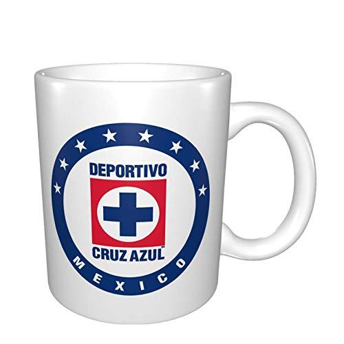 Cruz Azul Club De Futbol Mexiko Fußball Kaffeebecher für Mama am Muttertag/Geburtstag/Weihnachtsbecher Bälle Lustige Neuheit Cup Geschenkidee Becher