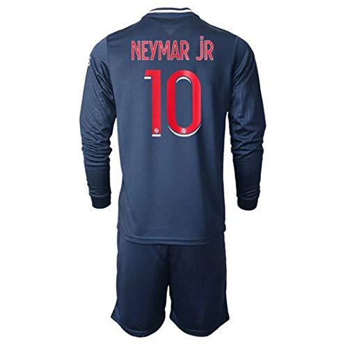 Olesa, maglietta sportiva da uomo e gioventù, 2020-21 # 1 K.navas # 7 Mbappe # 10 Neymar jr maglia da calcio abbigliamento da allenamento uomo e bambini t-shirt 20/21 (casa, X-Large)