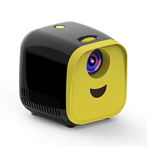 YUEBAOBEI Mini Proyector para Niños, Portátil Proyectors De Cine En Casa LED,...