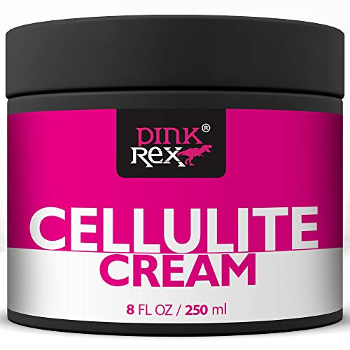 Cellulite Cream Anti-Cellulite Organic Treatment for Legs Belly Thighs and Butt - Wins Over Scrub Oil Creams with Retinol and Caffeine Stretch Marks Massager - Anti Cellulite Tightening Firming Skin