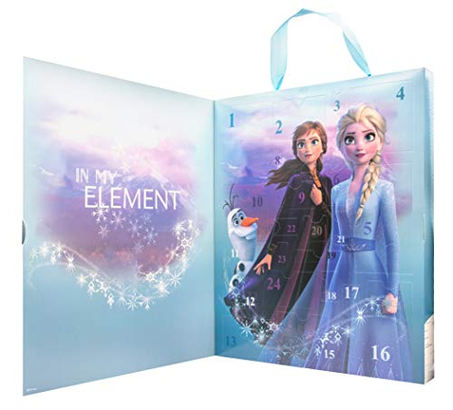 Joy Toy- Disney Frozen 2 Calendario d'avvento, Multicolore, 19388