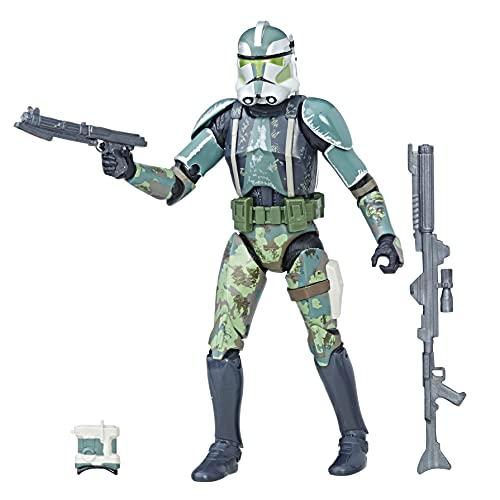 Hasbro 5010993731756 Star Wars Black Series – Clone Commander Gree, figure d'azione da 15 cm