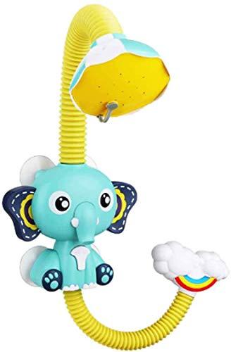 Elephant Cloud elektrische douche Children's Bad Speelgoed/twee manieren van Water/Spelen Baby van de zomer in de badkamer Bad Toys Blue