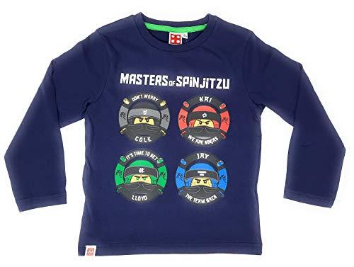 LEGO Ninjago - Camiseta de manga larga para niño azul 116 cm