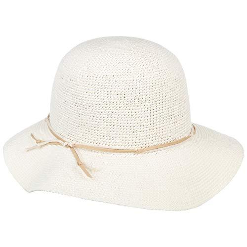 Mayser Brigitta Panamahut Sonnenhut Panamastrohhut Damenhut Schlapphut Damen - Made in The EU Frühling-Sommer - M (57-58 cm) cremeweiß