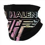 Van Halen Band Mascarilla Bufanda Microfibra Calentador de Cuello para Unisex