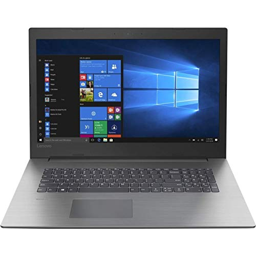 Lenovo IdeaPad 330-17AST (81D7004CUK) 17.3' Laptop AMD A6-9225, 8GB RAM, 1TB HDD, Windows 10 Home - Onyx Black (Renewed)