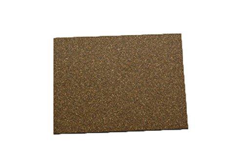 Cork Nature 620303 Superior Sealing Cork Rubber Sheet, 36' x 36' x 0.062'