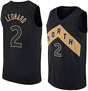 c440d4b7a7b7 MTBD Camiseta de Baloncesto para Hombre - NBA Toronto Raptors # 2 Kawhi  Leonard Swingman Edition