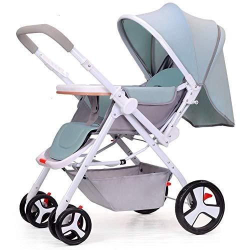 MAMINGBO Sillitas de paseo, cochecito de bebé Portátil de dos vías for niños Sentarse y acostarse Cochecito de bebé plegable for bebés, for recién nacidos Cochecito for sentarse y dormir