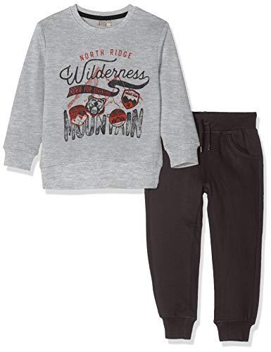 Losan Jungen 925-8650aa Sportbekleidung Set, Grau (Gris Medio Vigore 300), 4 Jahre (Herstellergröße: 04)