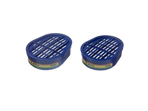 Dräger ABEK1 Gasfilter für Halbmaske X-plore 3300, 3500 oder Vollmaske 5500-2 Stück Packung