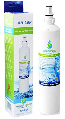 AquaHouse AH-L6P filtro per l'acqua compatibile per LG frigo LT600P, 5231JA2006A, 5231JA2006B, 5231JA2006F